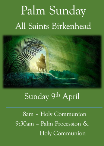Palm Sunday 2017 poster
