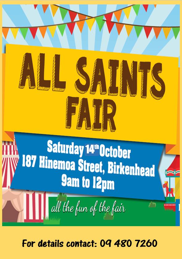 All Saints fair website 2017