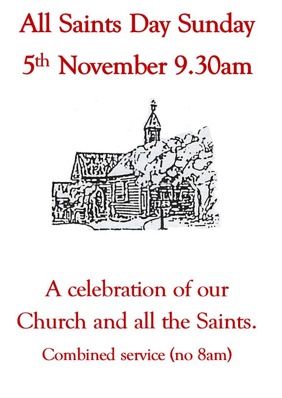 All Saints poster 2