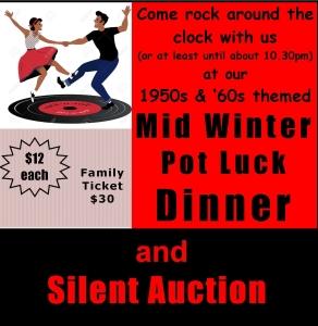 Pot Luck Dinner 2018 - poster